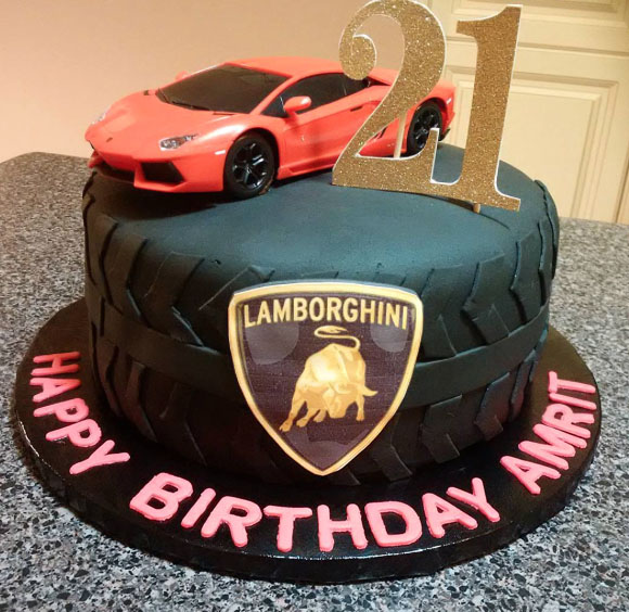 Cake Ideas For Car lovers Husband