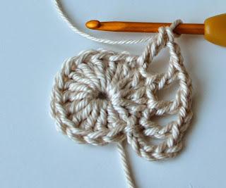 Free crochet pattern of coaster