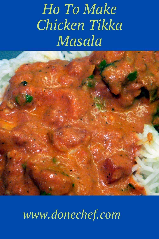 Ho To Make Chicken Tikka Masala