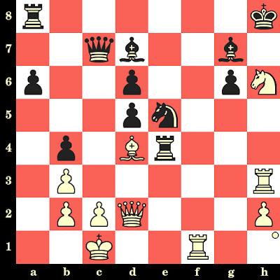 Les Blancs jouent et matent en 4 coups - Slim Bouaziz vs Craig Pritchett, Nice, 1974