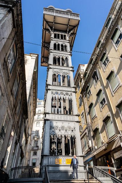 Un paseo por Lisboa -  Elevador de Santa Justa