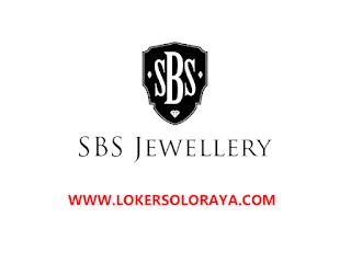 Lowongan Kerja Solo & Jogja Mei 2021 di SBS Jewellery