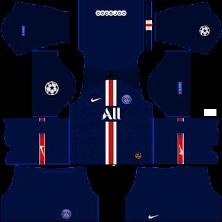 PSG Home Kits DLS 19