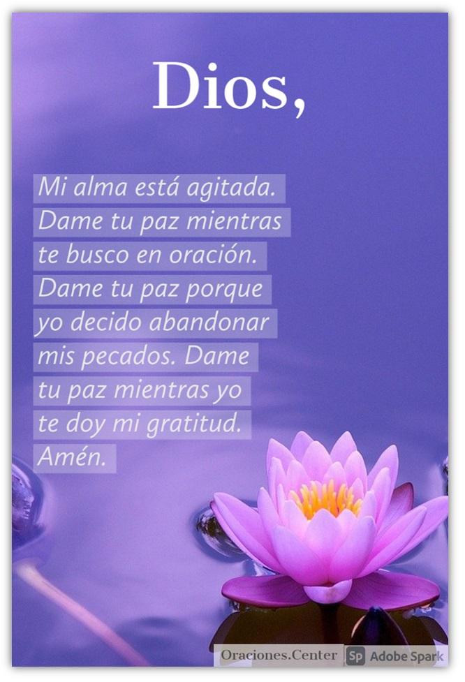 Padre Nuestro - Oración Pidiendo Paz para mi Alma