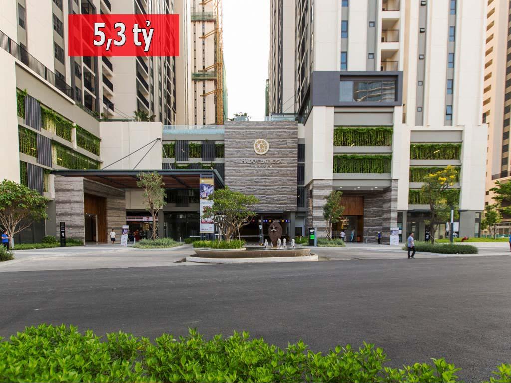 Bán gấp căn hộ 1PN Centrosa Garden tầng 30 Orchid 2