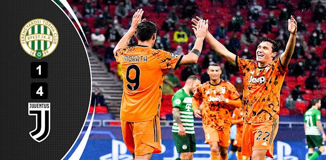 Ferencváros vs Juventus – Highlights