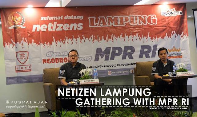 netizen lampung gathering with mprri
