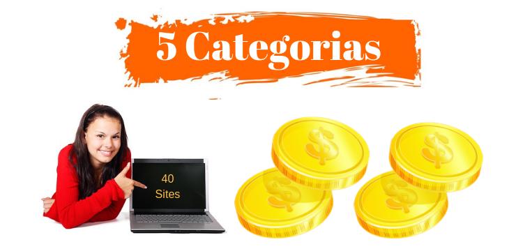 categorias de trabalho online