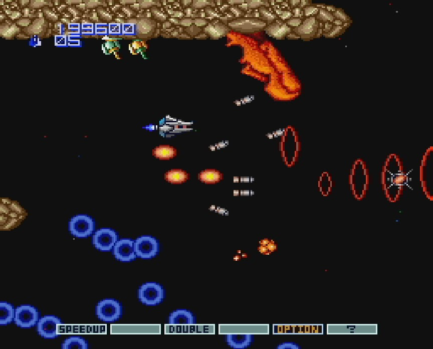 My all time favourite video games: Gradius II: Gofer no