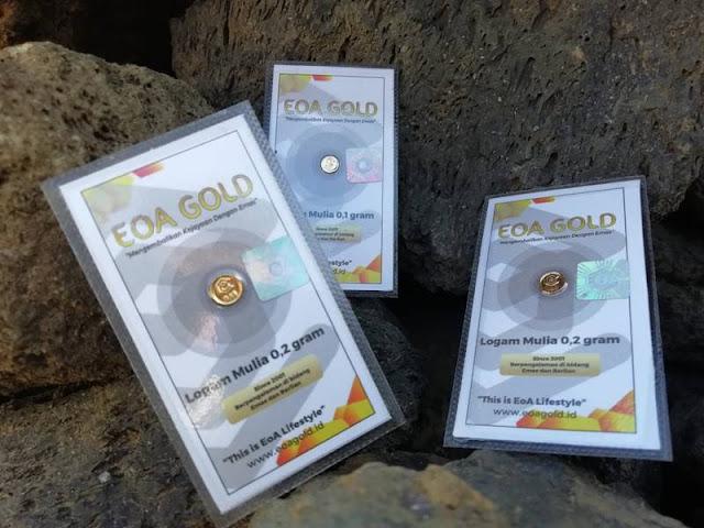 Ragam Varian Gramasi emas EOA Gold