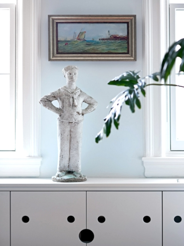 vintage sailor garden ornament
