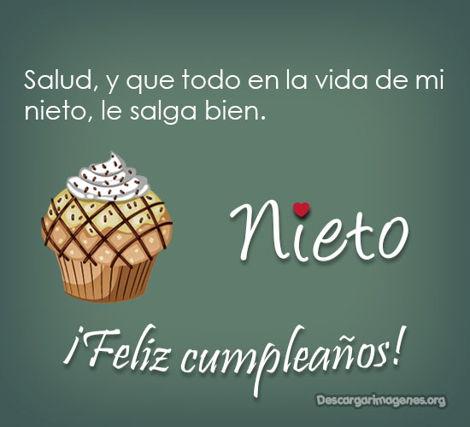 Dedicatorias cumpleaños imágenes nietico compartir.