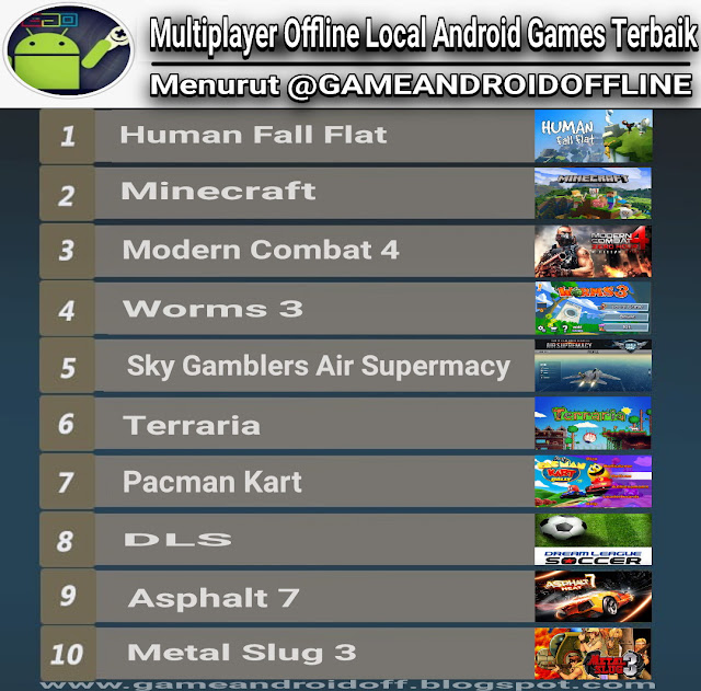 Multiplayer Local Wifi/Bluetooth Android Games Offline Terbaik