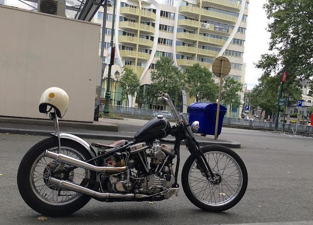 Harley Davidson Panhead By Hill Panhead Hell Kustom