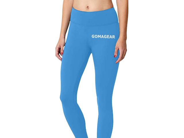 GOMAGEAR FLEX WORKOUT LEGGINGS - BLUE