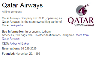 Qater Airways Contact Number Dubai