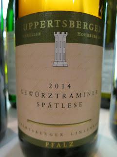 Ruppertsberger Linsenbusch Gewürztraminer Spätlese 2014 - Prädikatswein, Pfalz, Germany (88 pts)