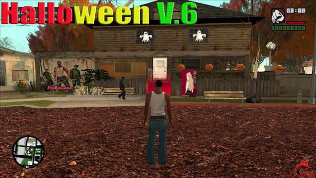 GTA San Andreas Halloween V.6 Latest Version