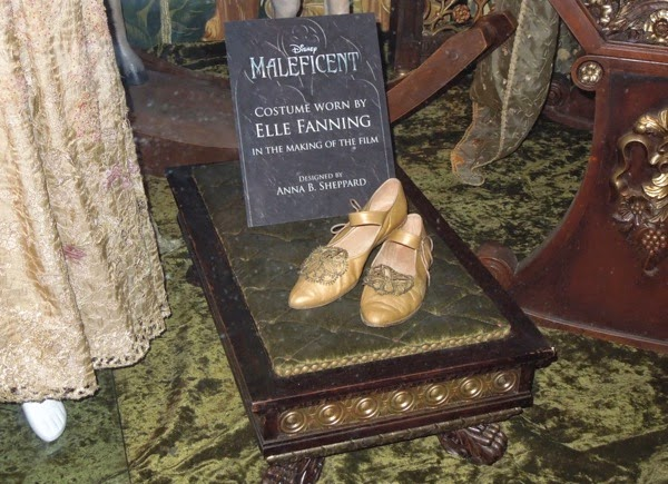 Maleficent Princess Aurora coronation shoes