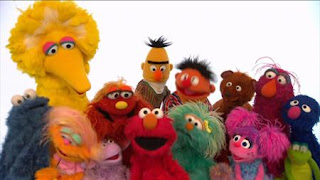 The Sesame Street Alphabet is a popular song sung by Sesame Street characters such as Elmo, Bert, Ernie, Cookie Monster, Grover, Oscar the Grouch, Murray, Abby Cadabby. Sesame Street The Best of Elmo 3