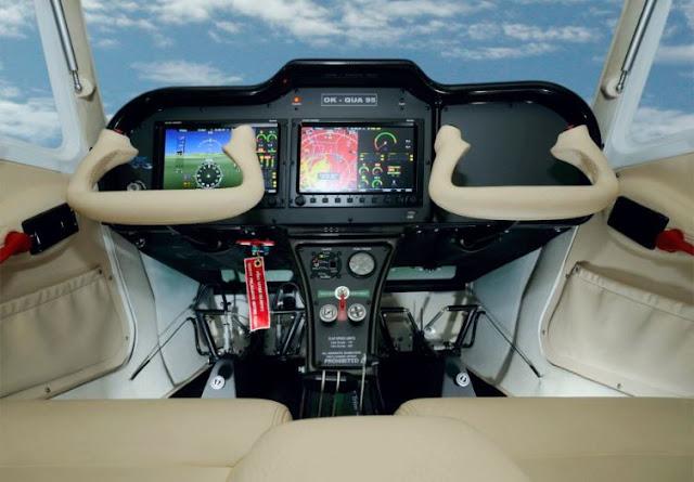 TL-3000 Sirius cockpit