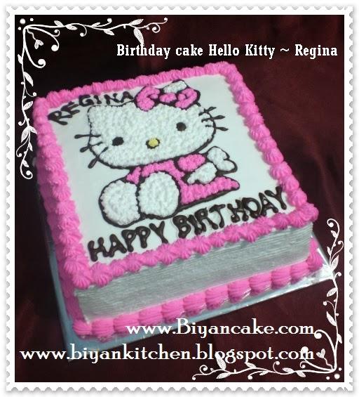 Pesan kue ulang tahu anak di bekasi kue tart hello kitty regina