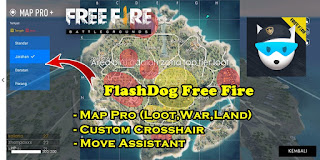 Cara Mengetahui Lokasi Looting Terbaik Free Fire Dengan FlashDog