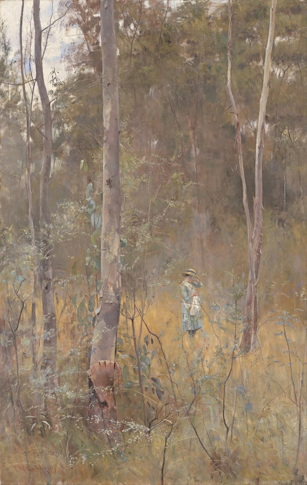 Perdido - Frederick McCubbin e suas principais pinturas ~ australiano