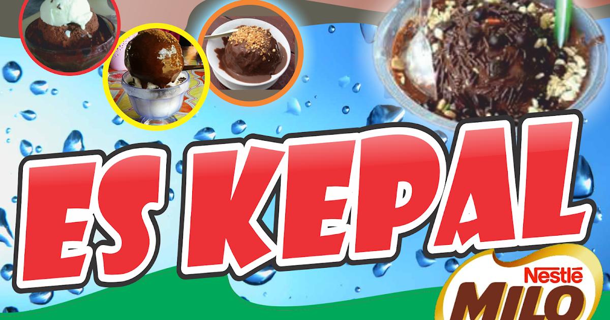 Desain Banner Es Kepal Milo cdr | Kumpulan Desain Grafis ...