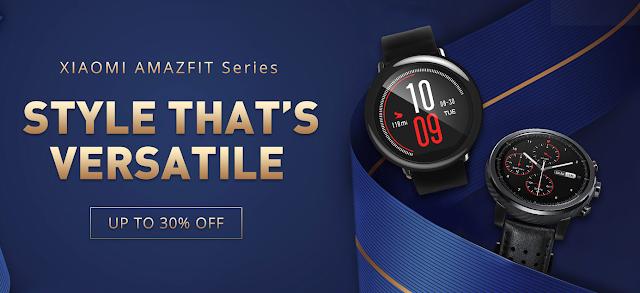 Promoção da Série Amazfit da Xiaomi