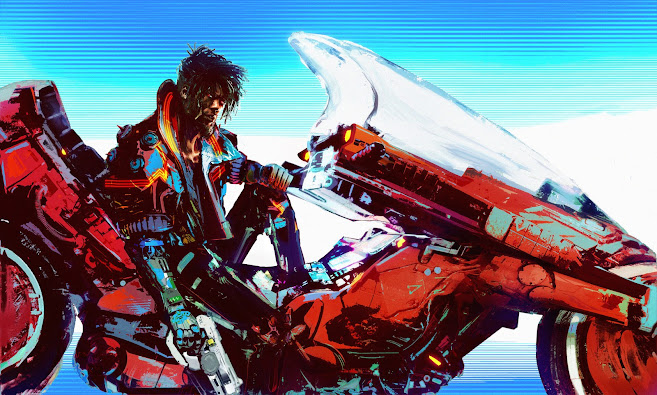Kaneda Blue by Jason Mejia