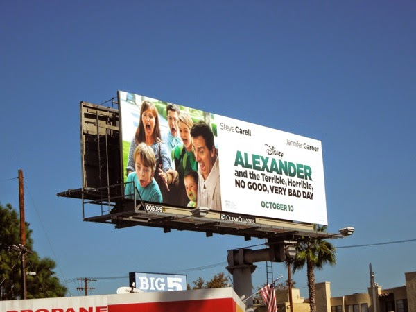 Alexander Terrible Horrible Bad Day billboard
