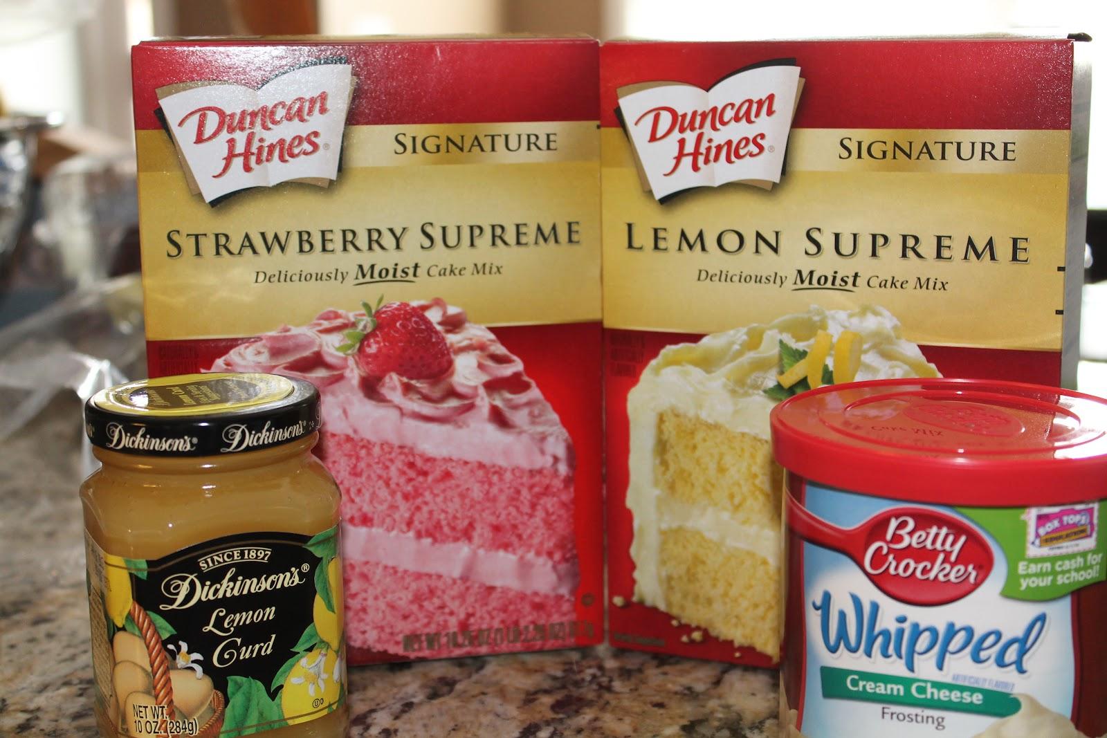 Cargile Family Favorite Recipes Strawberry Lemonade Cake