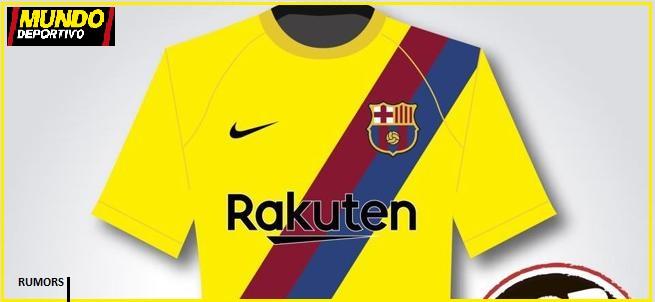 RUMORS   Fc Barcelona Segunda Equipación de la Temporada 2019 2020 ... 9c1867d9f