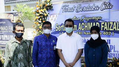 Gubernur NTB Serahkan Bantuan Kepada Istri Korban KRI Nanggala 402 Asal Bima