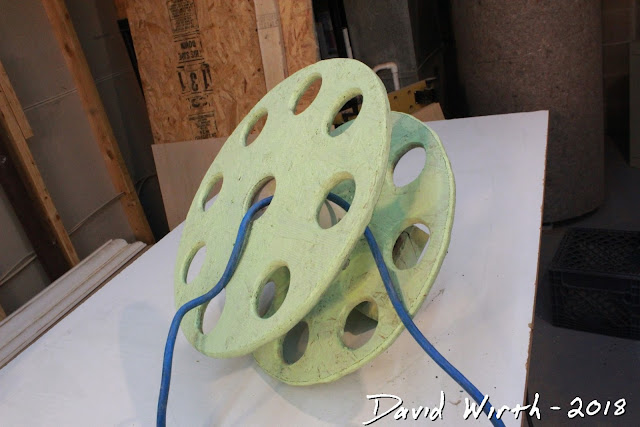 roll up extension cord, contractors wrap