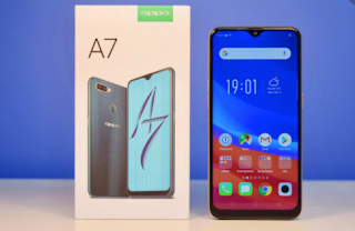 cara flash oppo a7