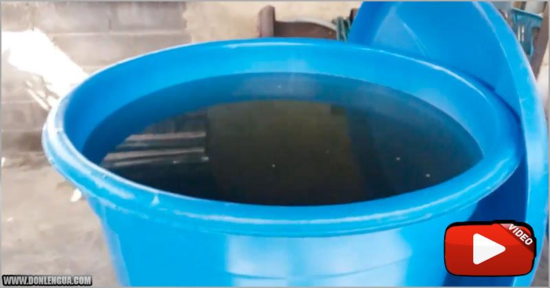 Después de un mes Hidrocapital le envía agua a Petare - Pero son Aguas Negras