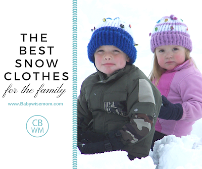 The Best Snow Clothes for the Family