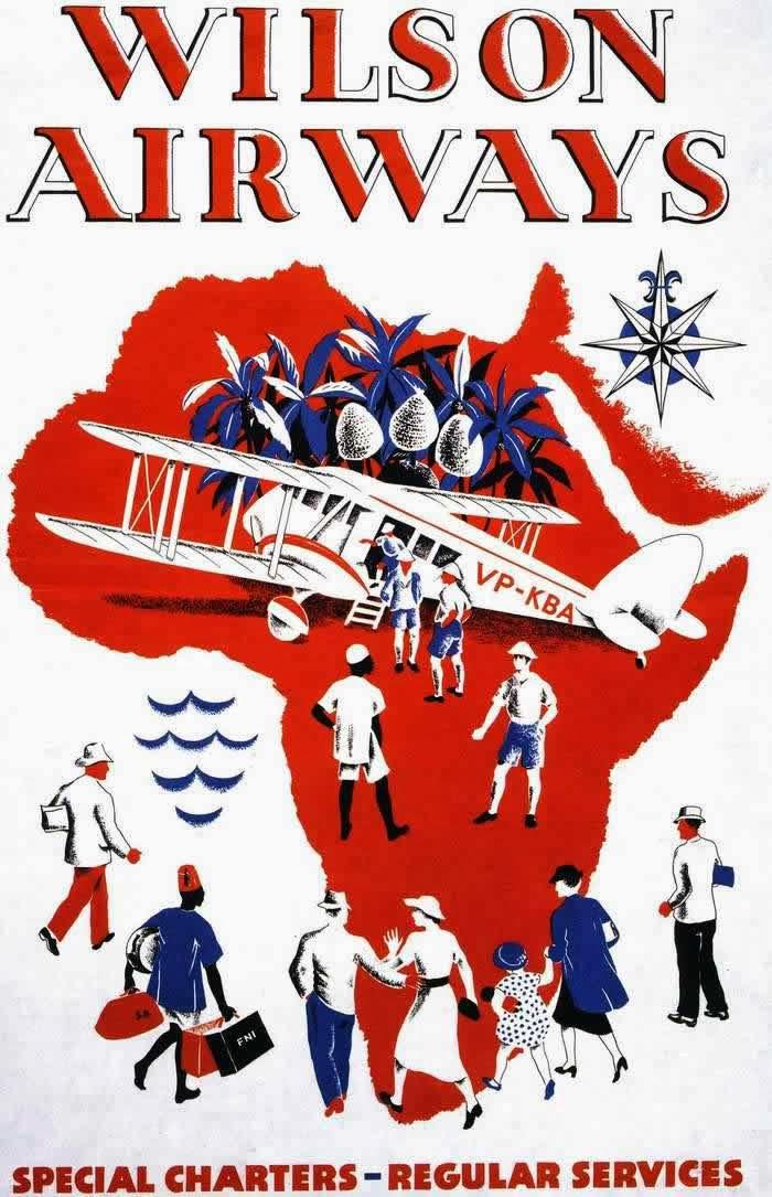 Vintage British Aviation Posters Ca 1920s 1930s Vintage Everyday