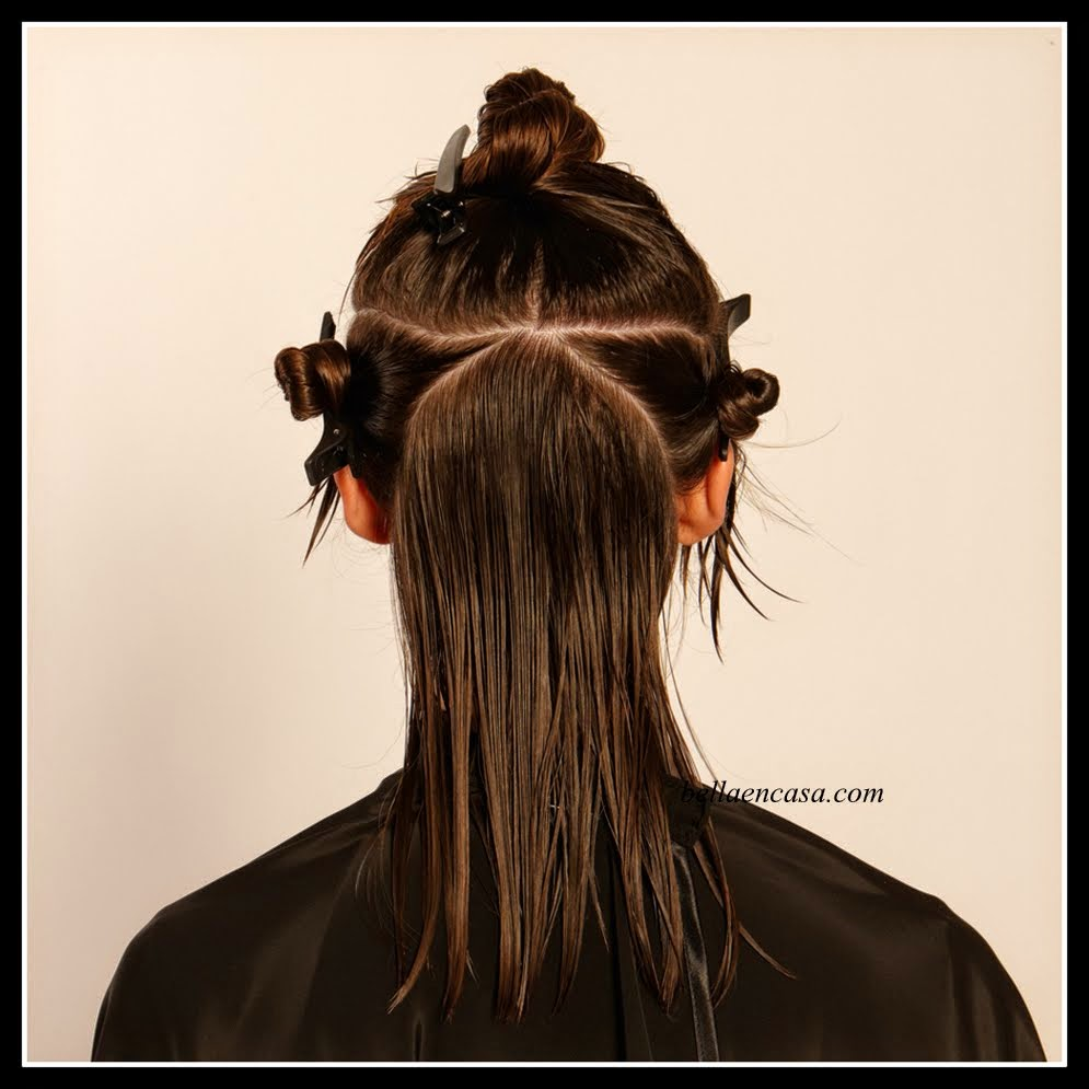 Corte de pelo carre paso a paso