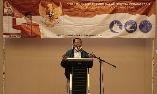 Memo Hermawan : Dunia Mengakui Indonesia Kokoh Karena Punya  Pancasila