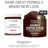 Baebody Arabica Coffee Scrub: Best Cellulite, Acne, Stretch Marks, Wrinkles Treatment. With Dead Sea Salt, Olive Oil, and Shea Butter. Natural Exfoliator, Moisturizer Promoting Radiant Skin 12oz