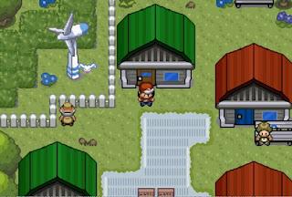 Pokemon Heroes para GBA Pueblo Inicial