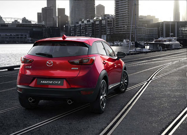 Spesifikasi New Mazda CX3