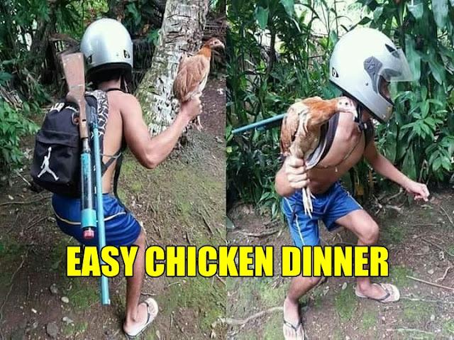 17 Meme 'PUBG di Dunia Nyata' Ini Kocaknya Bikin Auto Chicken Dinner