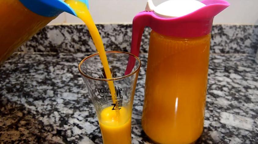 عصير بدون فواكه وصحي