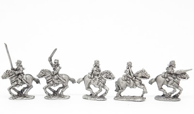 MUB8   Cavalry in shirt and caps