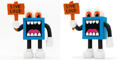 LOUDMOUF Vinyl Figure by Greg Mike x ToyQube