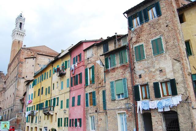 Plaza del Mercado de Siena, Toscana